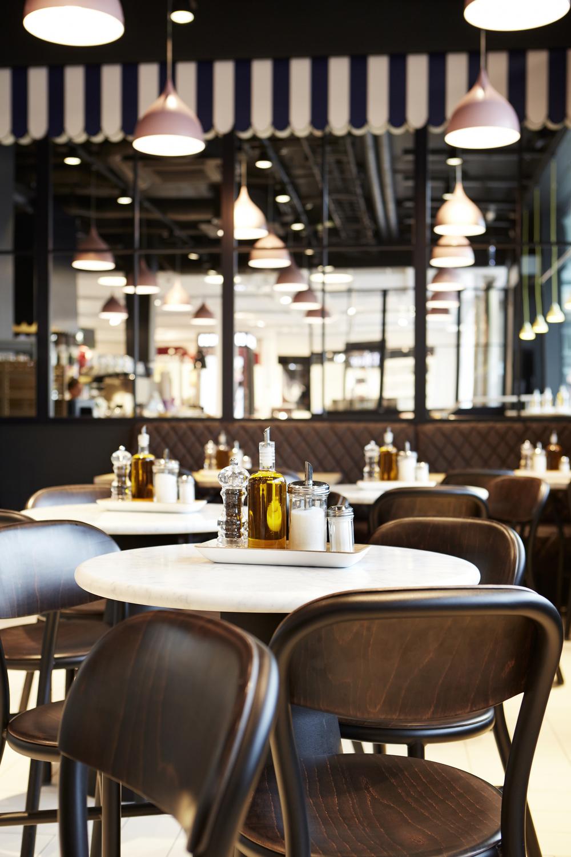 Café Å Lait Östermalmstorg. Foto: Åhléns