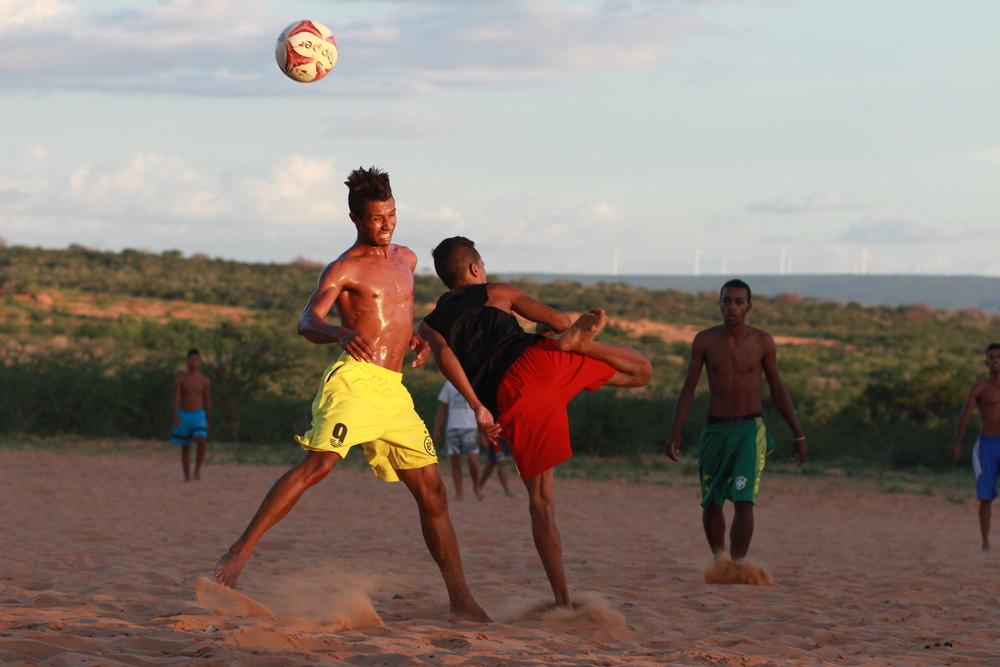 Partida na comunidade quilombola negros de Betinho.