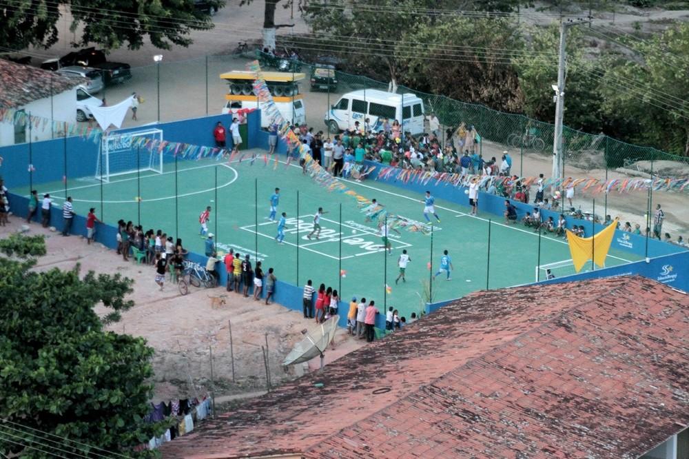 Vista geral do projeto Cachoeira, Alagoas, Brasil.
