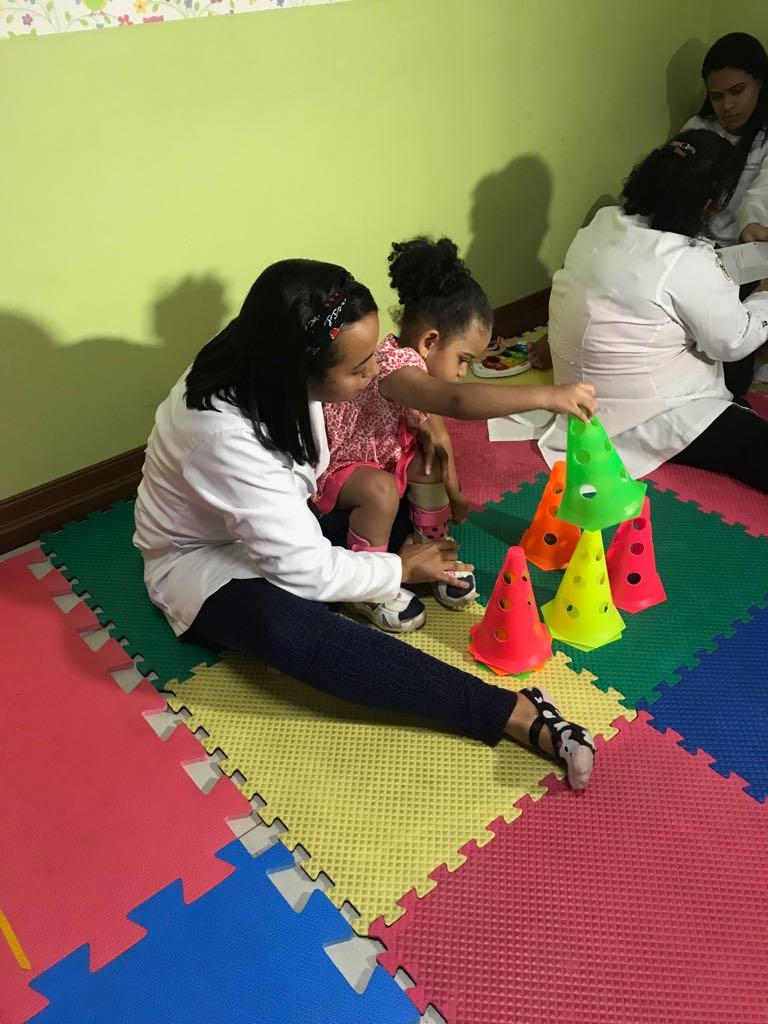Com a renda do Jogo do Bem, a Amar montou uma sala de fisioterapia para as crianças (Foto: Divulgação)