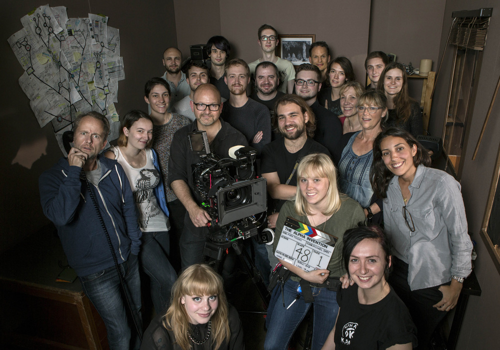 The cast and crew (minus me)