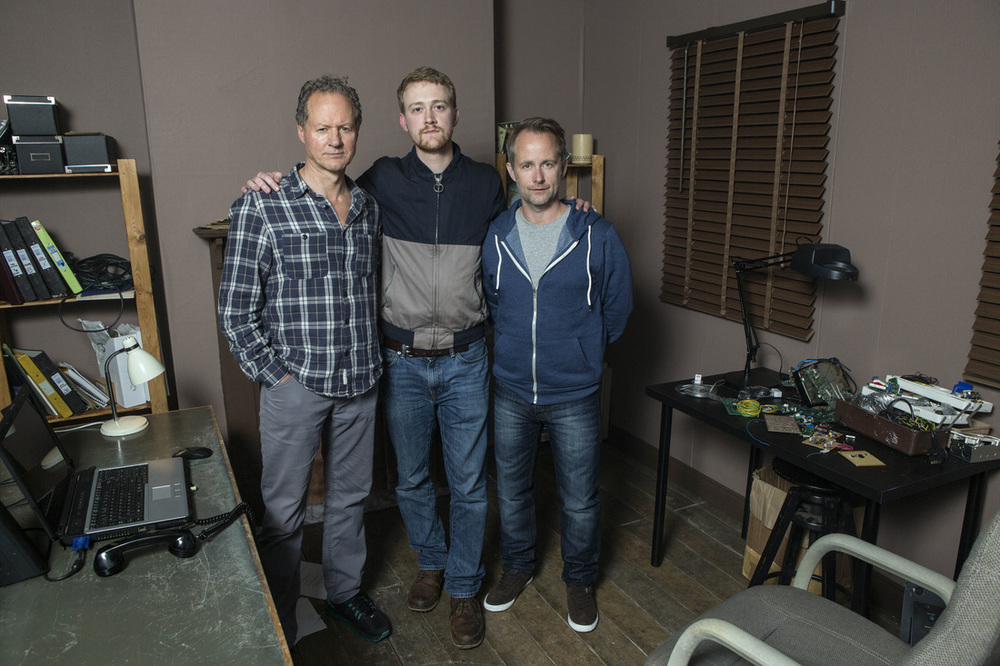 William Hope, Mark Towers (Director/Writer) and Billy Boyd