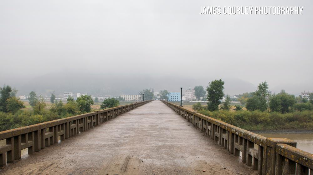 The Tumen-Namyang border crossing bridge