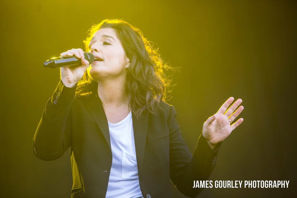 Jessie Ware at the Isle of Wight Festival 2015