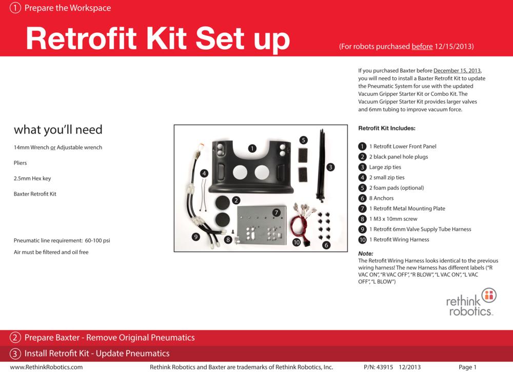 Retrofit Kit