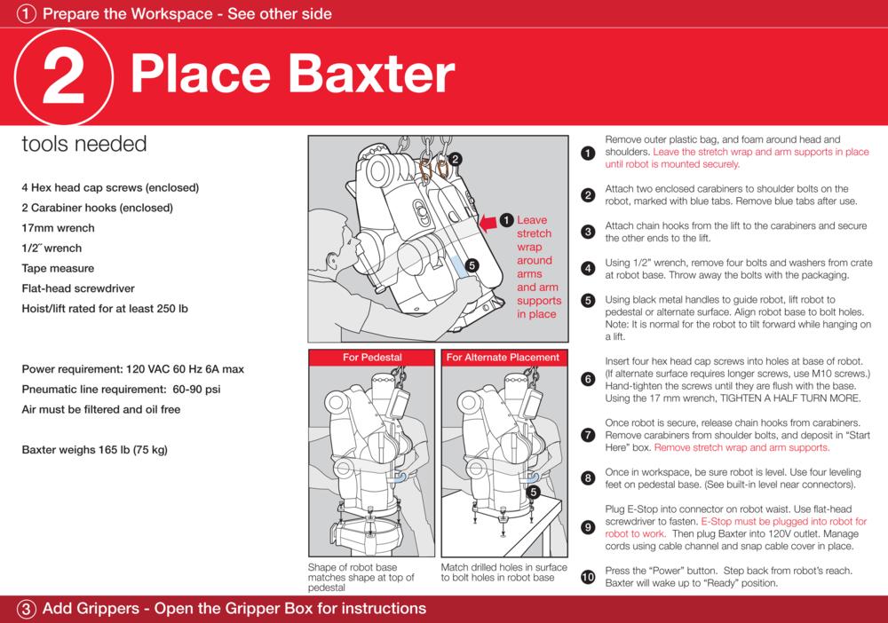 Set up DFU for Baxter