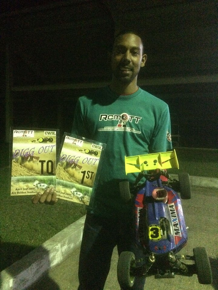 1st Steven Hosein Also took Top Qualifier (TQ)