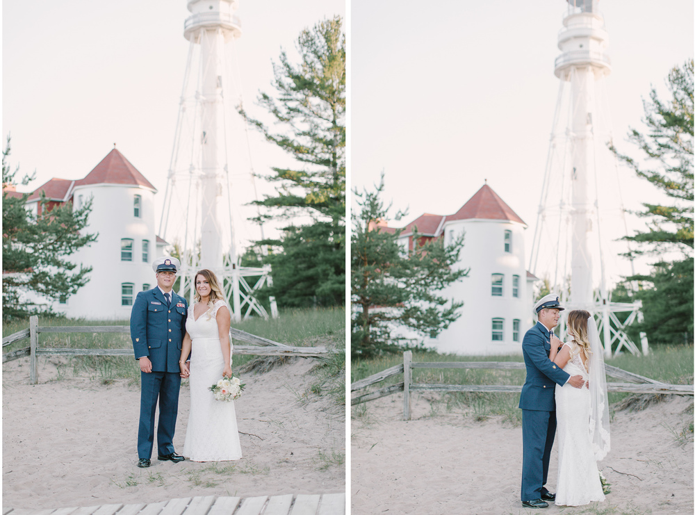 Point Beach State Park Wedding  | North Point Rustic Lighthouse | Wisconsin Bride | Milwaukee WI Photographers  | www.karenann.photography | Green Bay | Door County | Madison | Destination