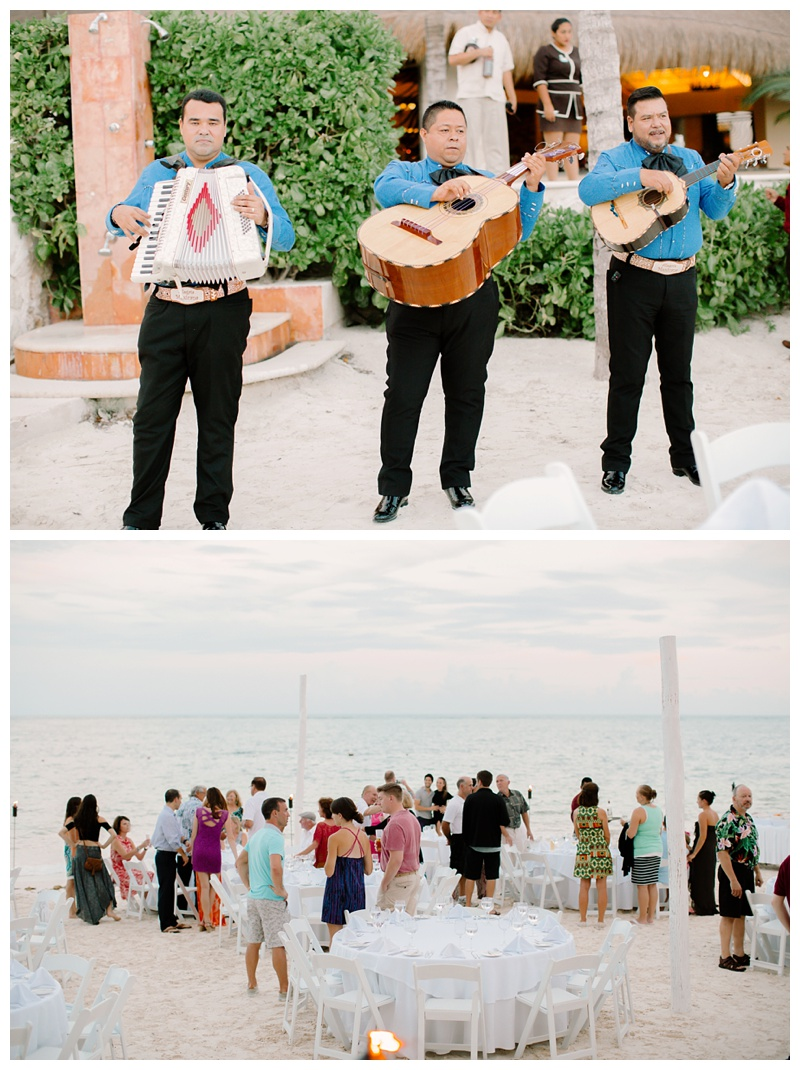 Azul Beach Resort Riviera Maya Mexico Wedding Destination Photographer Green Bay Milwaukee WI Photography Madison Door County Beach Wedding Mexico Mariachi Band