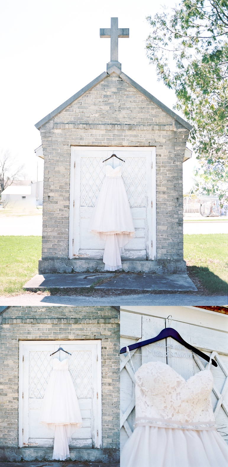 St. Mary's Church Milwaukee WI Wedding Karen Ann Photography Bridal Gown