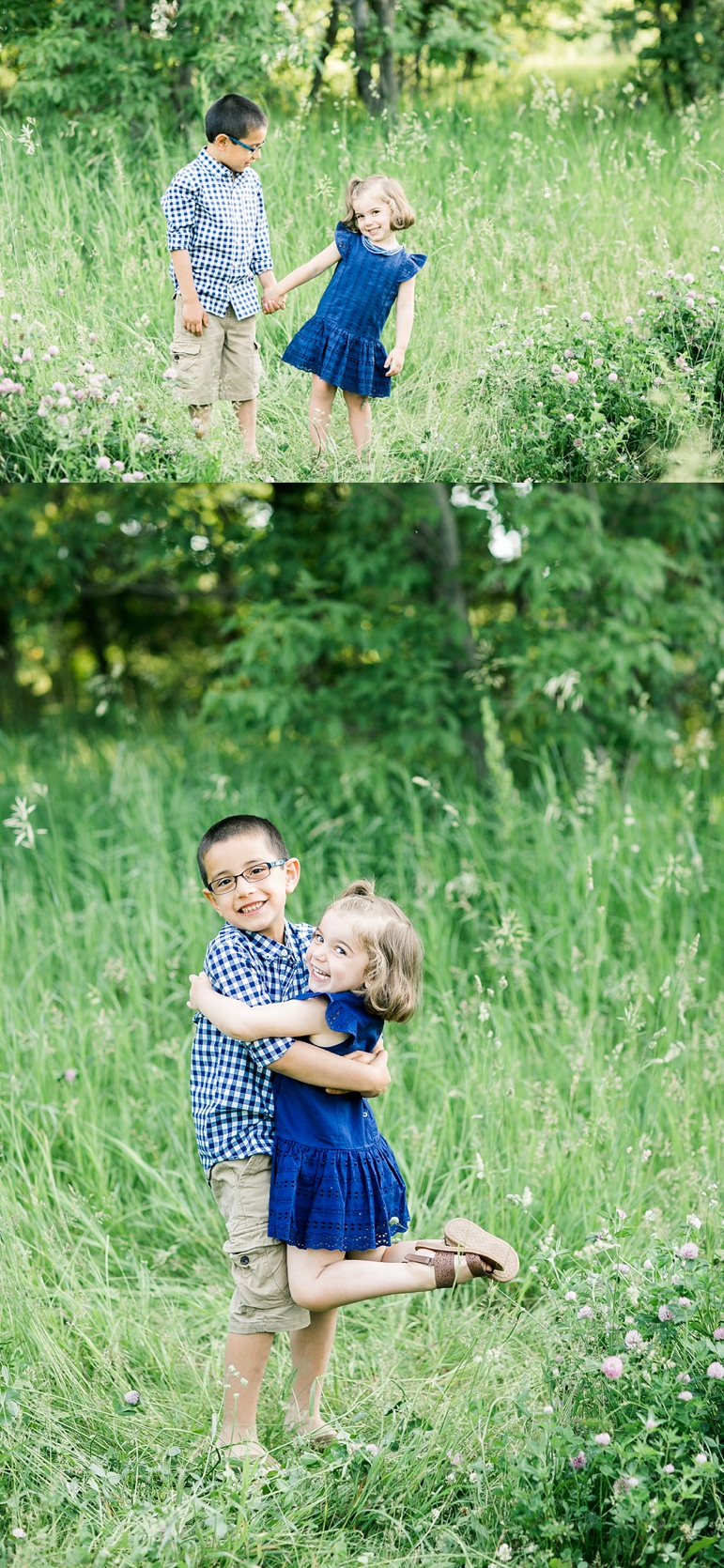 Milwaukee WI Wedding Photographers Green Bay Family Session Fonferek Glen County Park