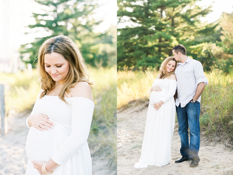 Milwaukee Wedding Photographers, Door County Beach Maternity Session, Karen Ann Photography, Green Bay Family Pictures