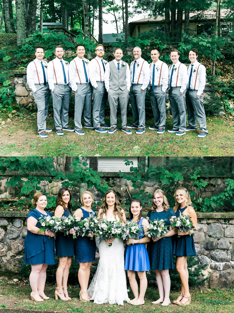 Madison Wedding Photographers, Karen Ann Photography, Gordon Lodge Door County, Buds N Blooms Florist, Blue Water Kings Band Chicago