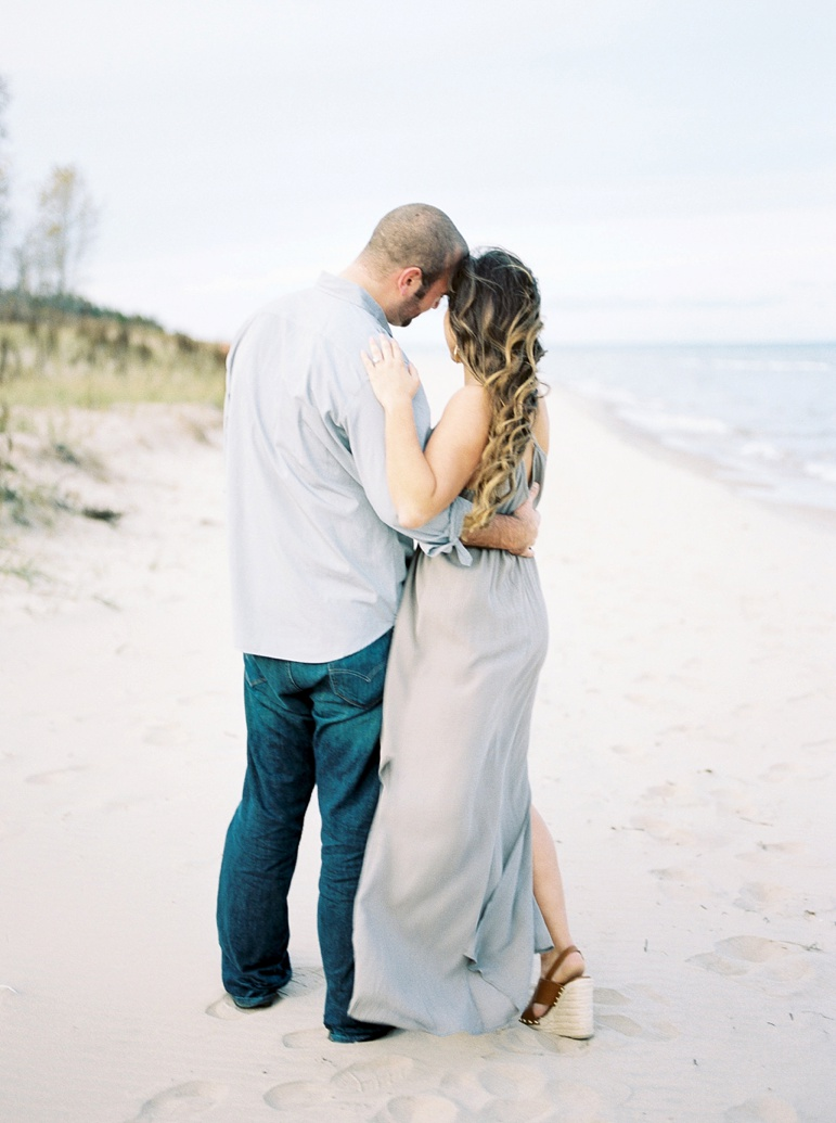 Door County Wedding Photographer, Wisconsin Peninsula State Park Engagement Photos, Fall Engagement, Karen Ann Photography