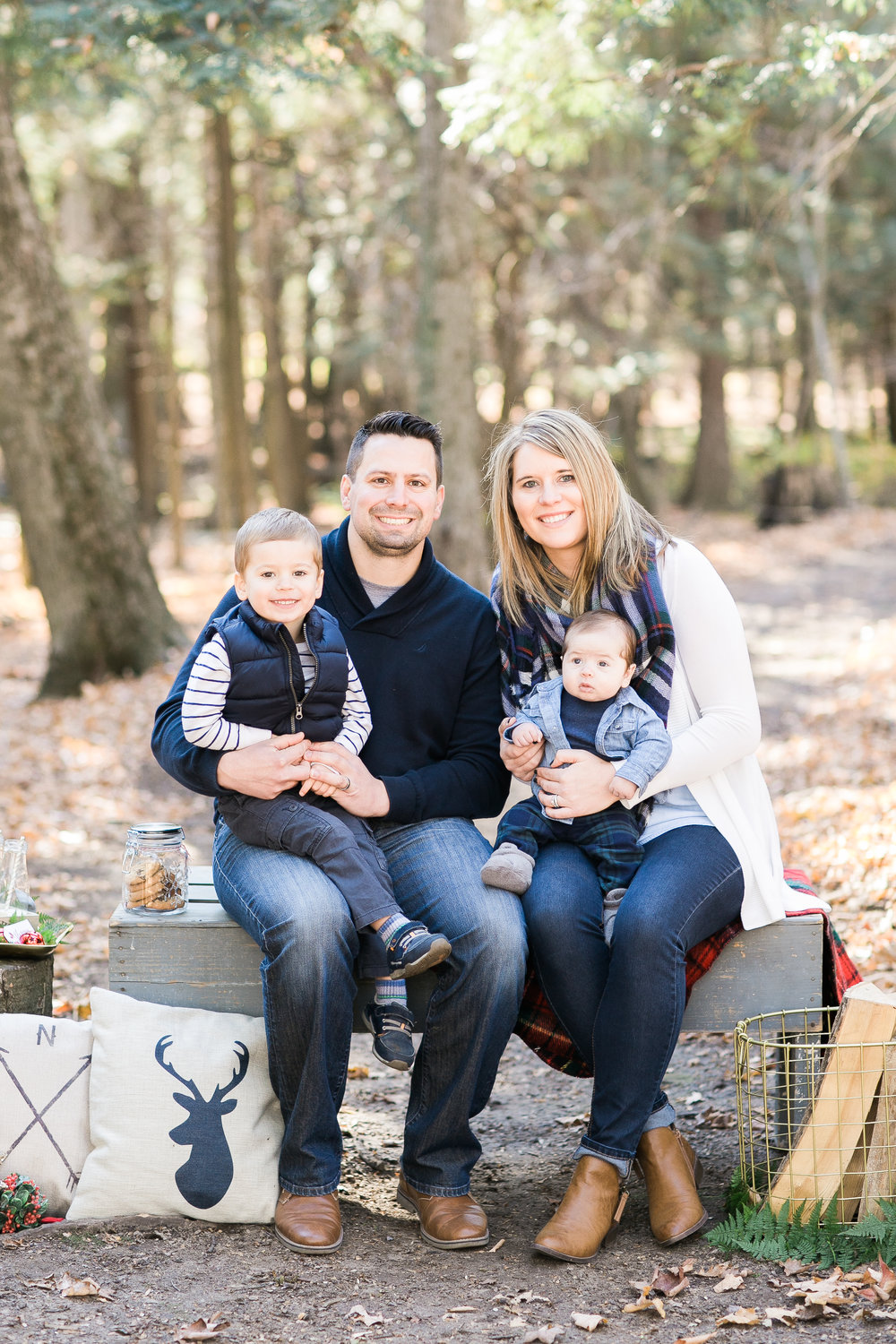 Green Bay Wisconsin Christmas Mini Sessions