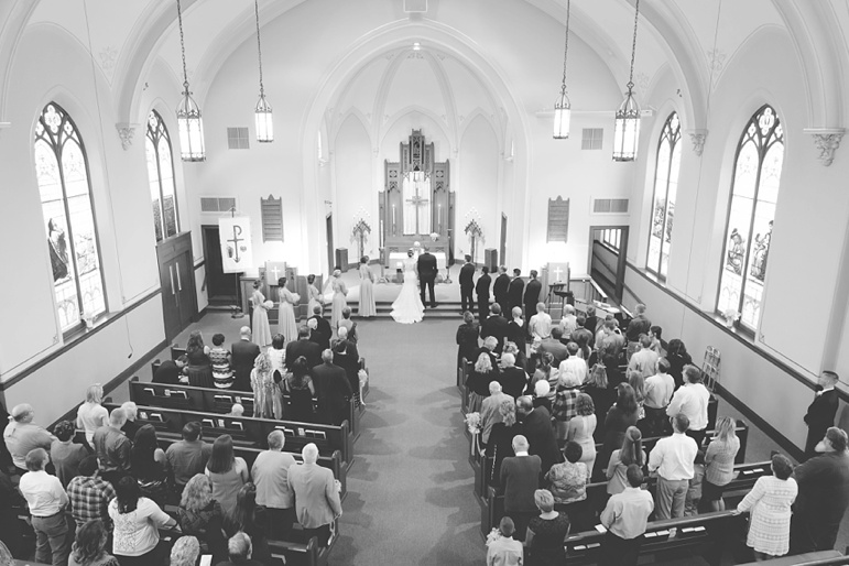 Emmanuel Lutheran Church Seymour WI Wedding, Green Bay area ceremony