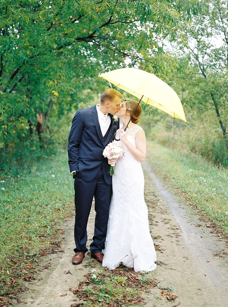 Green Bay WI Botanical Gardens Wedding