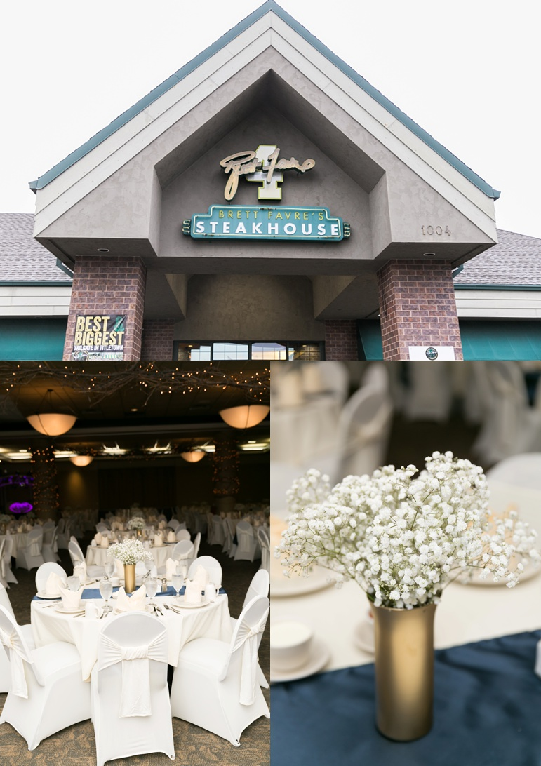 Brett Favre Steakhouse Wedding, The Cake Guru