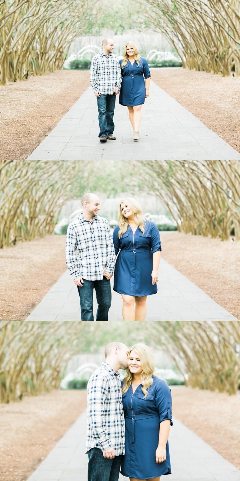 Dallas Arboretum & Botanical Gardens Engagement Photos, Texas Wedding Photographers