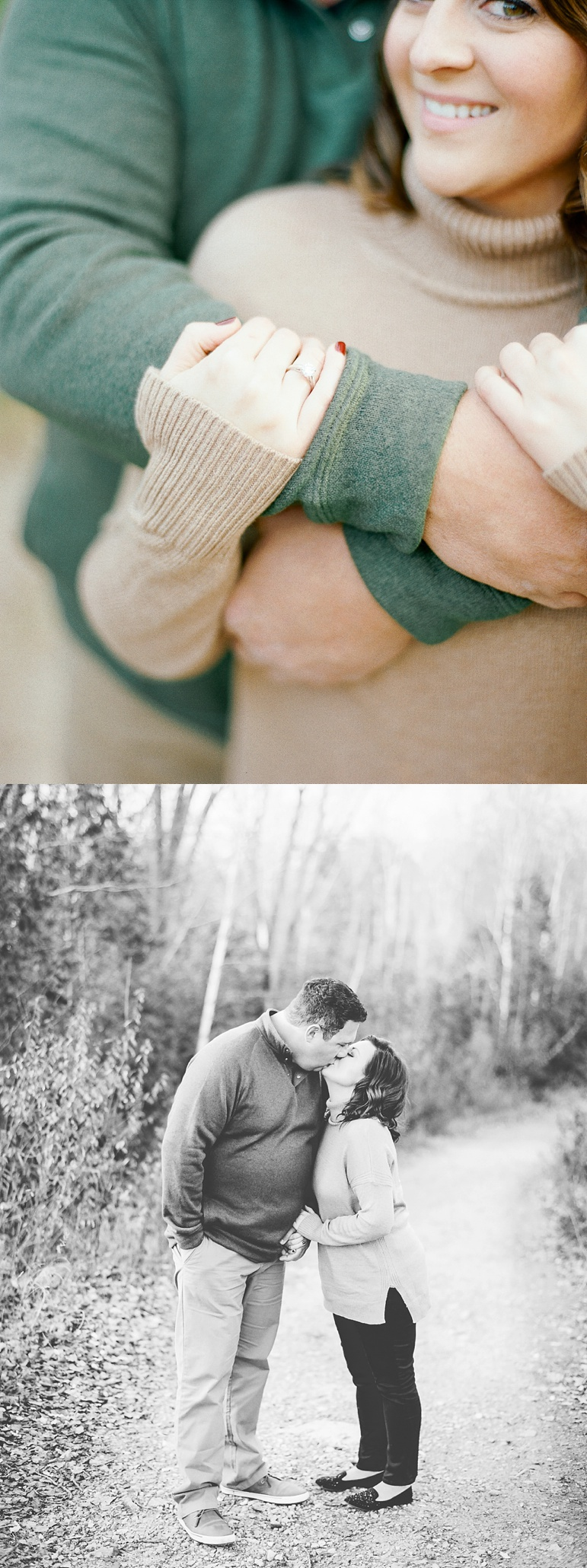 Appleton Wedding Photographers High Cliff State Park Engagement Pictures