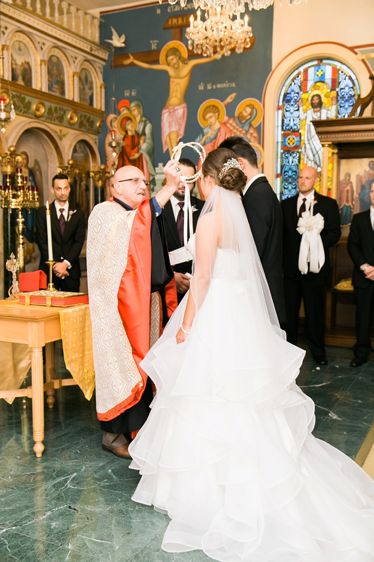 St. Spyridon Greek Orthodox Church, Osthoff Resort Elkhart Lake Wedding