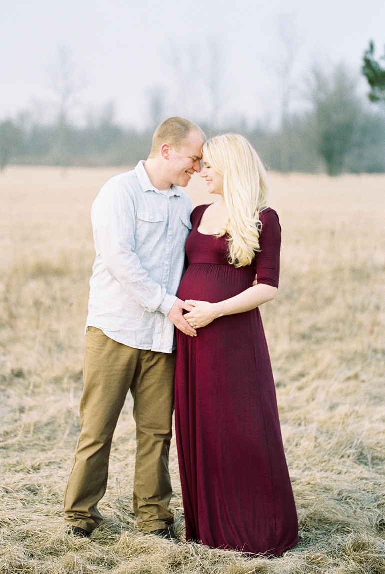Door County WI Maternity Session, Milwaukee Photographers, Spring Maternity Photos
