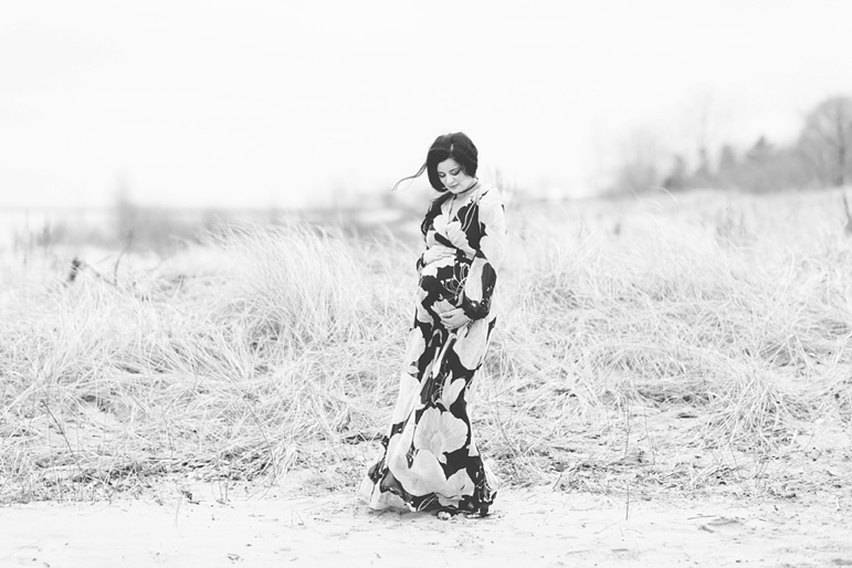 Door County Wisconsin Beach Maternity Session