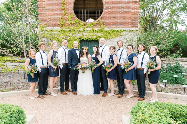 Green Bay Botanical Gardens and Thornberry Creek Wedding Photographer
