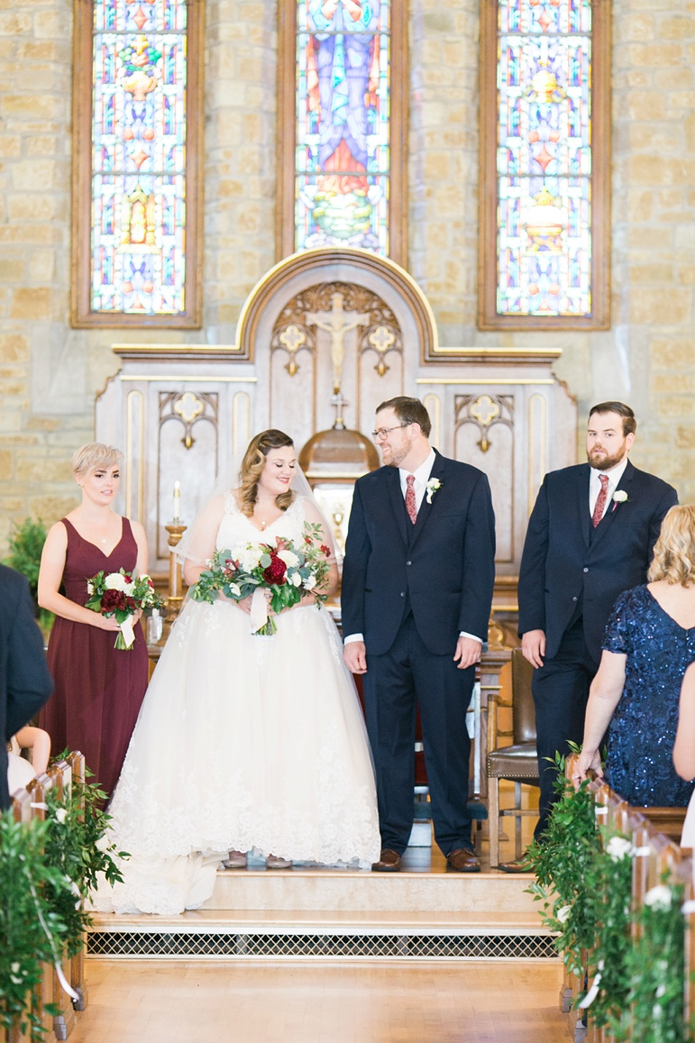 Stella Maris Catholic Church Fish Creek WI and Gordon Lodge Baileys Harbor Door County Wisconsin Wedding, Ebb & Flow Green Bay Florist