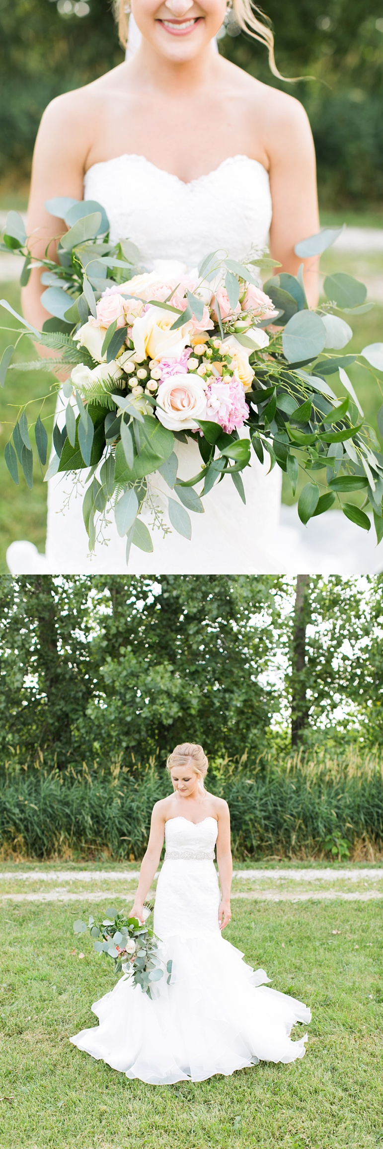 Manitowoc Wedding Photographers, St John's Lutheran Church, Twin Fountains Wedding Reception, The Flower Gallery