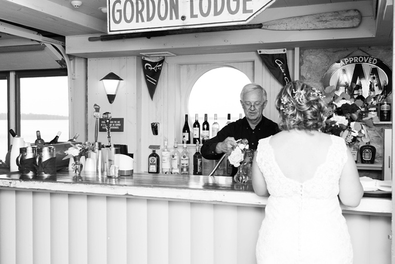 Door County WI Small Wedding, Gordon Lodge in Bailey's Harbor, Wisconsin Elopements