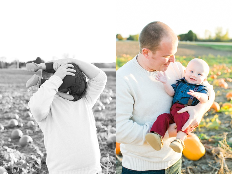 Wisconsin Pumpkin Patch Family Photos