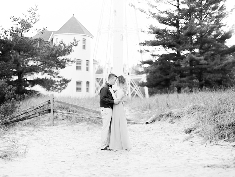 Door County Engagement Photos