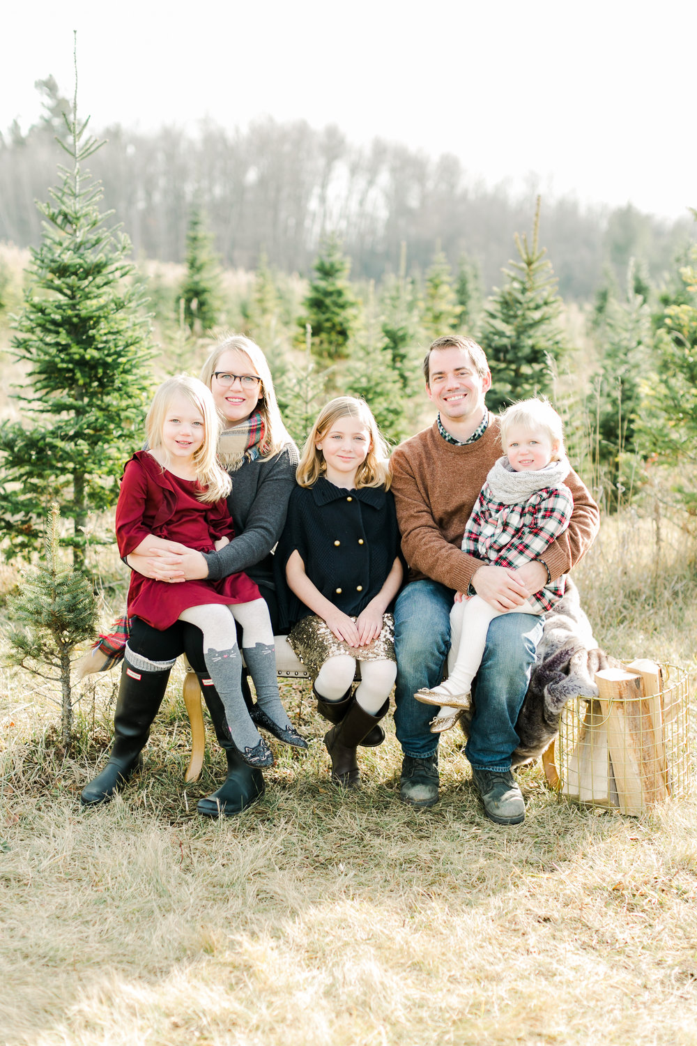 Tree Farm Family Photos Green Bay WI