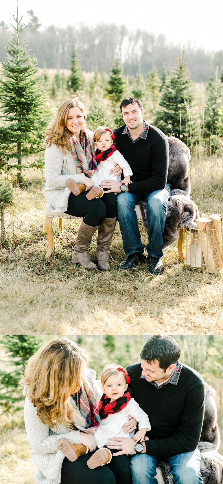 Milwaukee WI Winter Family Photos