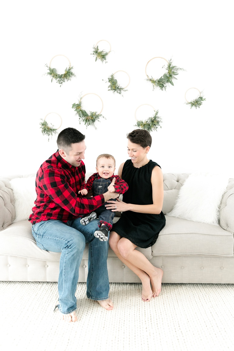 Green Bay Indoor Studio Family Photos