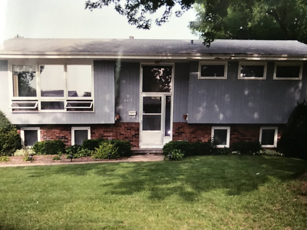 The first house we bought... at the age of 20. This was also the house I grew up in and brought Alivia home from the hospital.