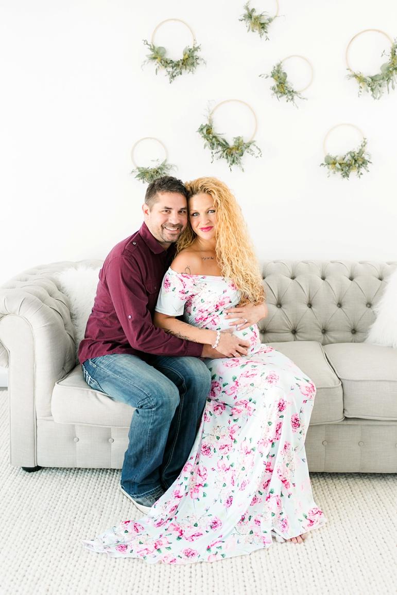 Indoor Maternity Photos | Green Bay Wisconsin