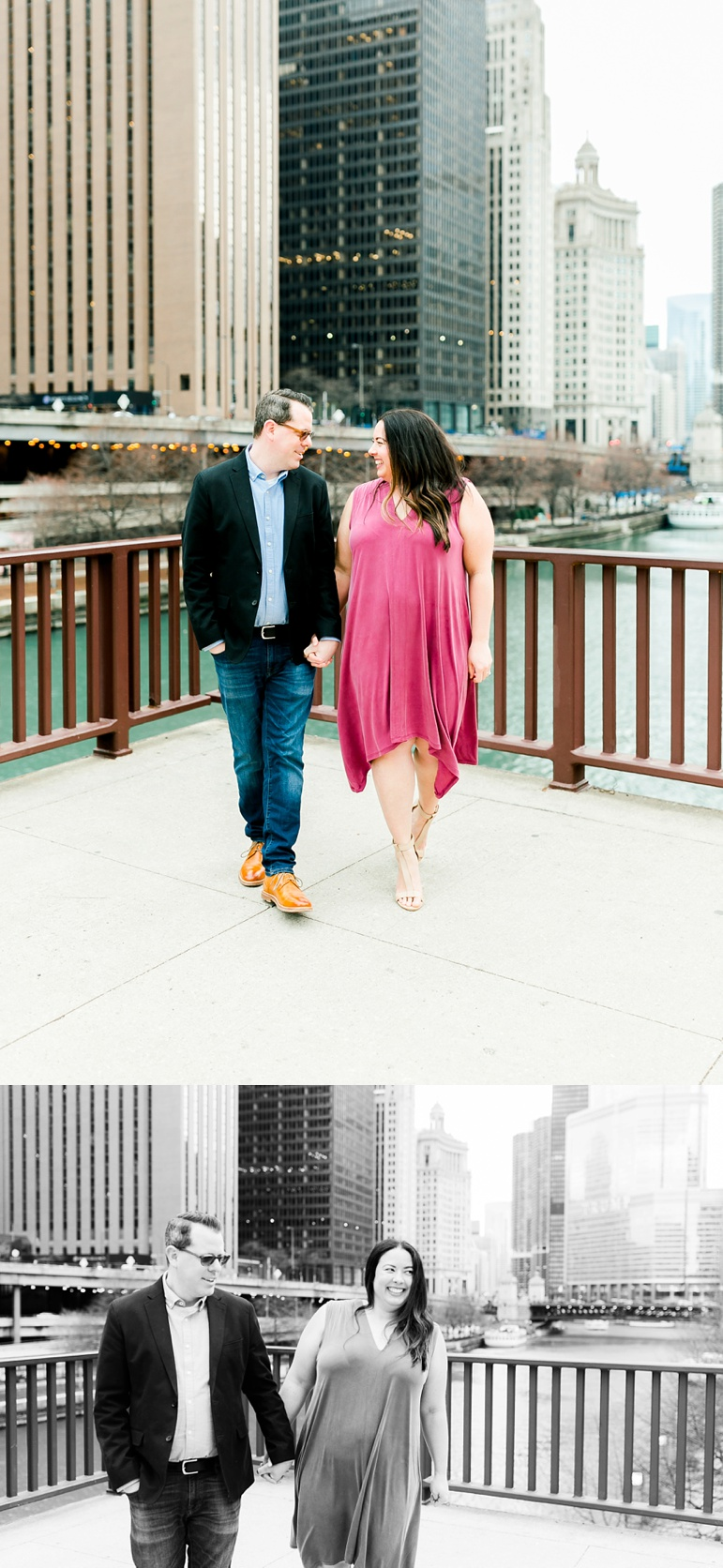 Chicago Wedding Photographer | North Ave Beach Engagement Photos