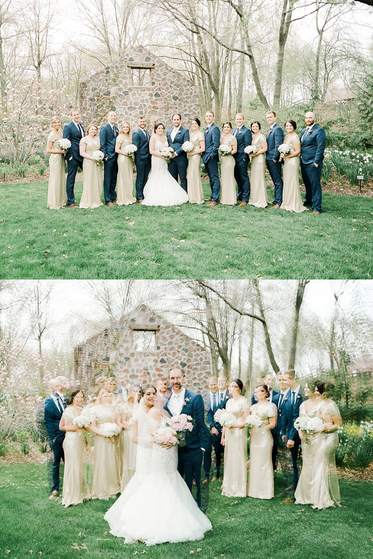 Sepia Chapel Green Bay Wedding and Gather on Broadway Reception