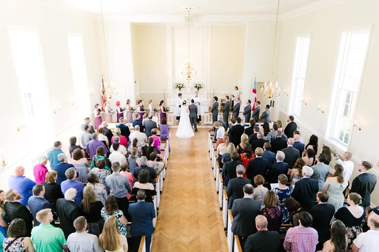 St. Christopher's Episcopal Church and South Shore Park Pavilion Wedding