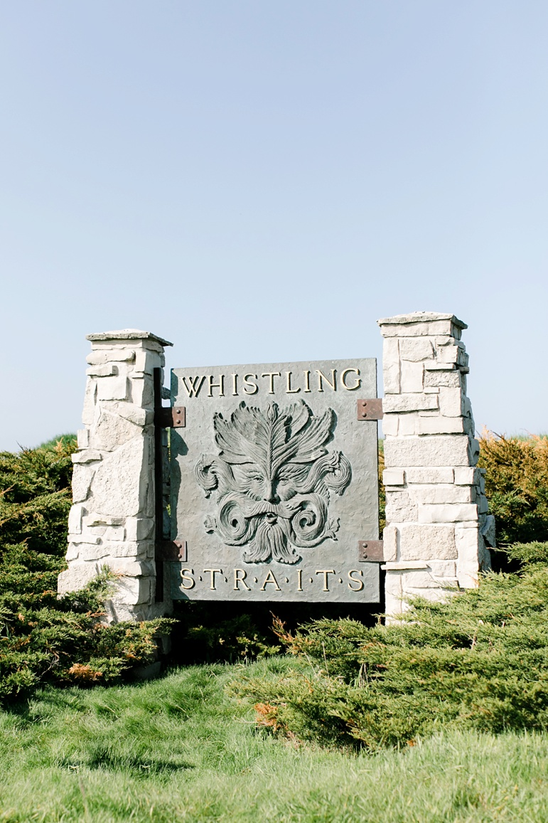 Sheboygan WI Wedding at Whistling Straits Golf Course