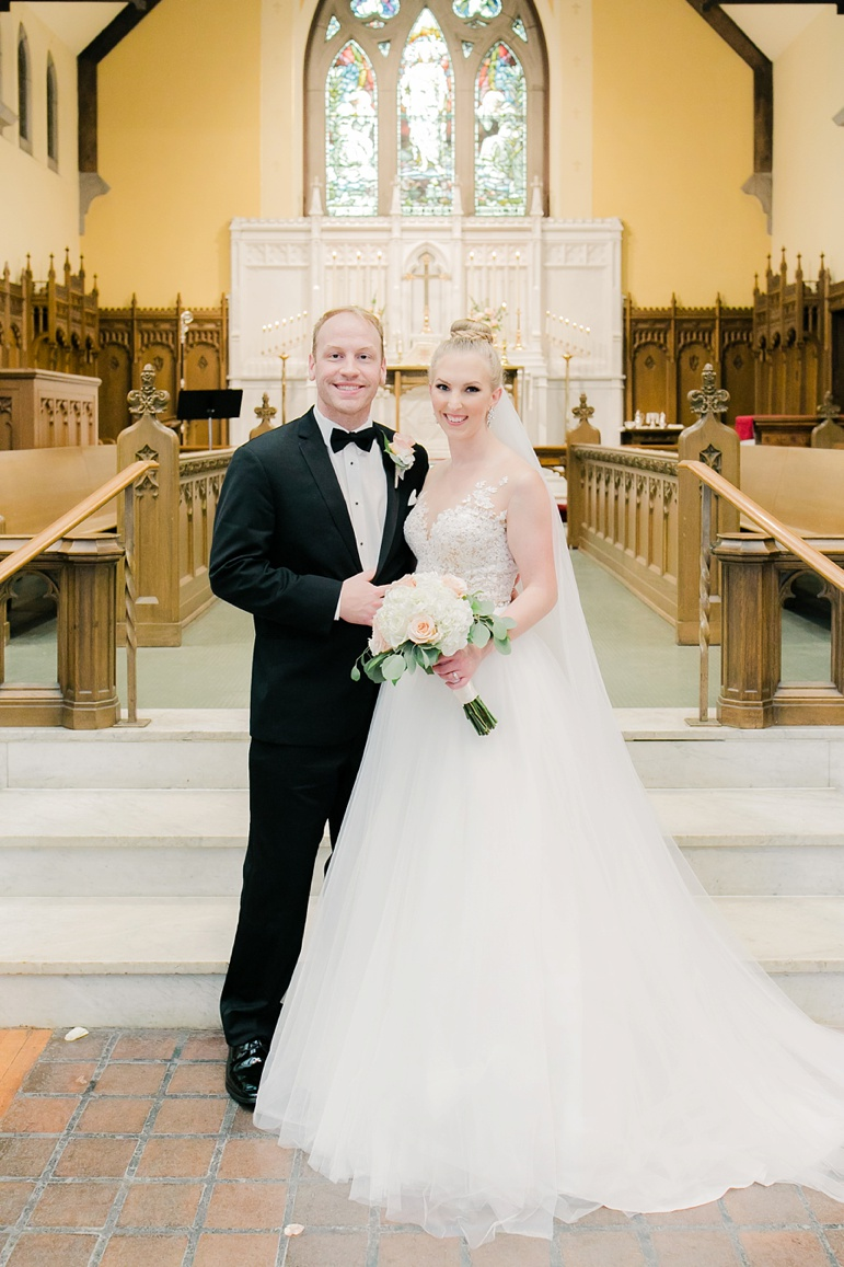 Eau Claire WI Wedding Photographers | The Lismore Hotel & Christ Church Cathedral