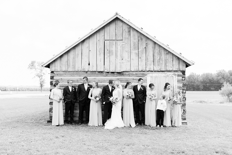 Town of Chase Stone Barn Green Bay WI Wedding