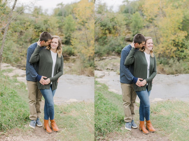 Green Bay Wisconsin Fall Engagement Photos