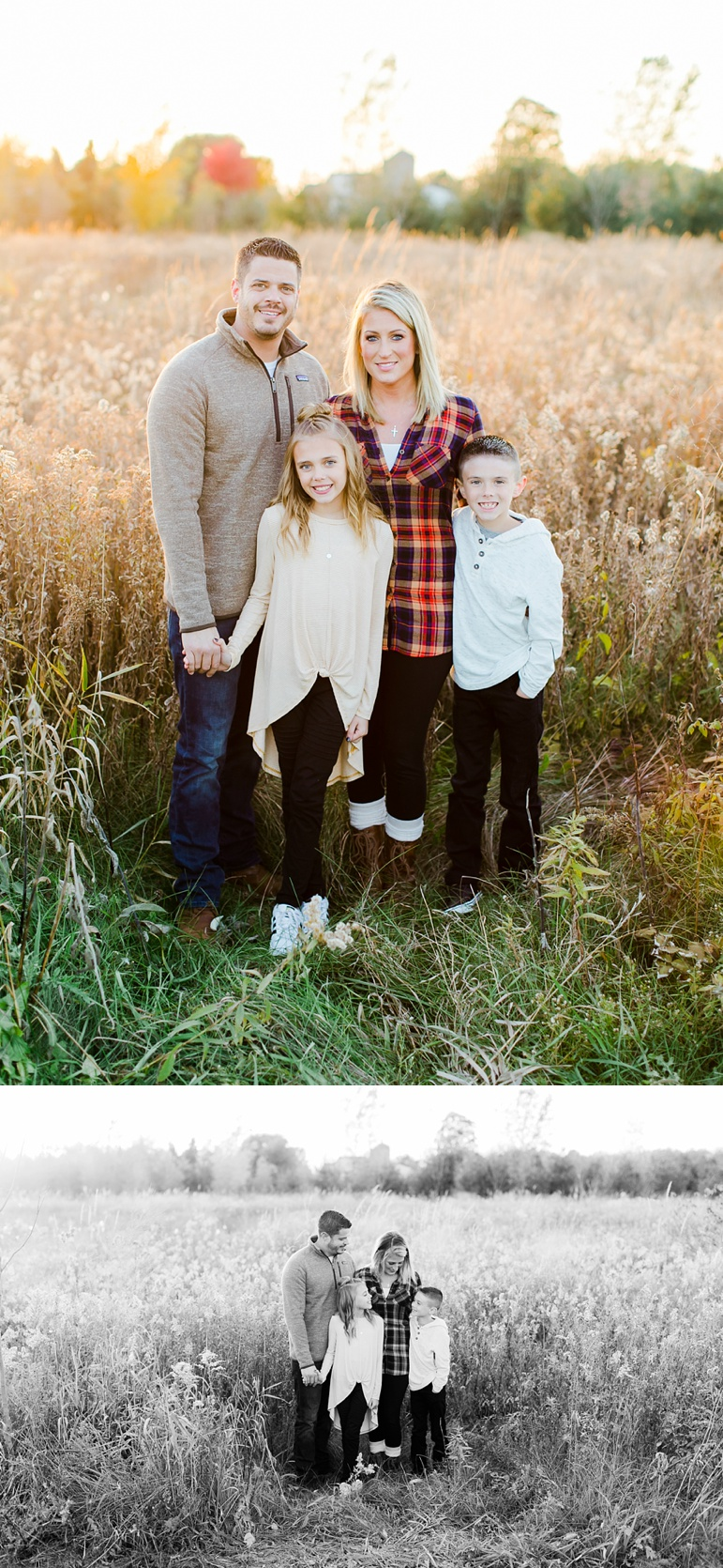 Green Bay WI Fall Family Photos
