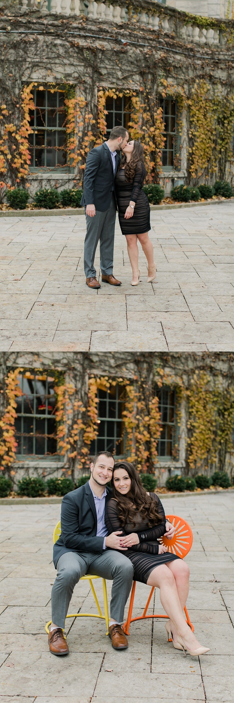 Memorial Union Terrace Engagement Photos