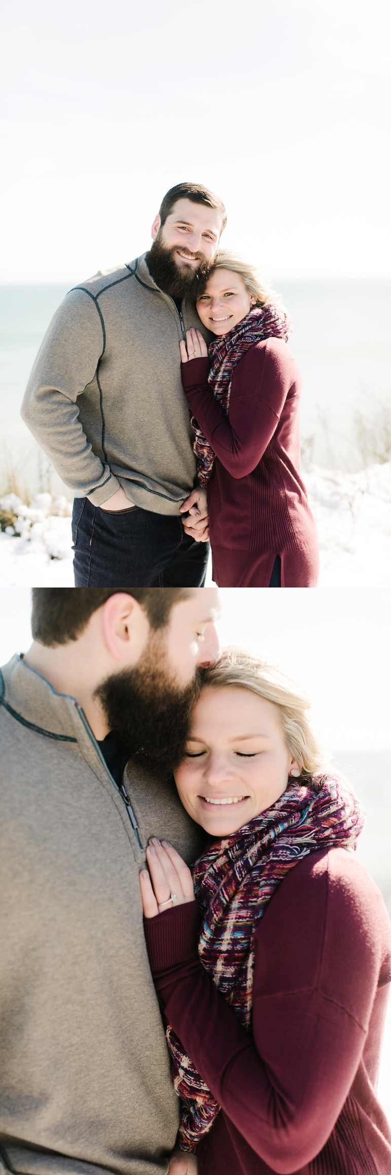 Milwaukee Winter Engagement Session Lions  Den Gorge