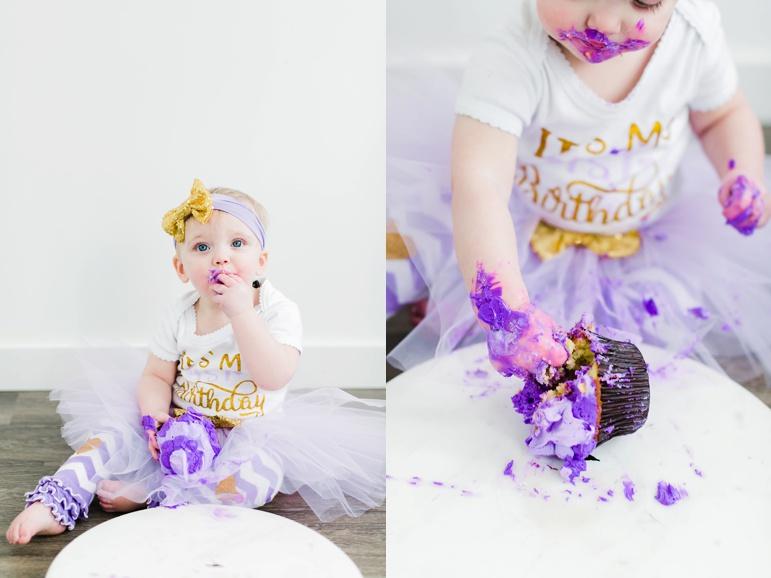 First Birthday Cake Smash Photos