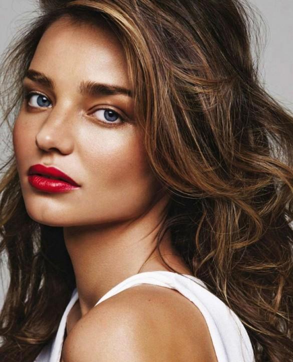 Miranda Kerr pop lipstick